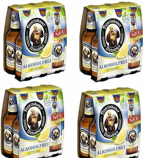 Franziskaner Weissbier alkoholfrei Zitrone 6x0,33l