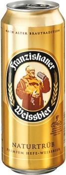 Franziskaner Weissbier Naturtrüb 0,5l Dose