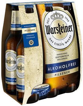 Warsteiner alkoholfrei Pilsener 6x0,33l