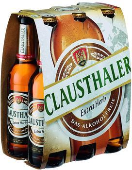 Clausthaler Extra Herb Das Alkoholfreie 6x0,33l