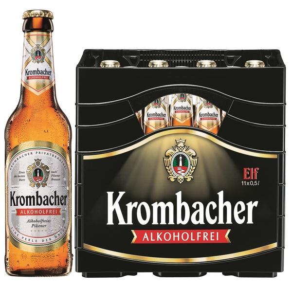 Krombacher Pils alkoholfrei 11x0,5l Kasten