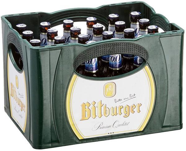 Bitburger 0,0% Pils alkoholfrei 24x0,33l