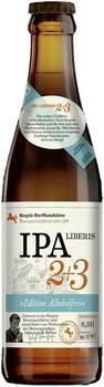 Riegele BierManufaktur IPA Liberis 2+3 0,33l