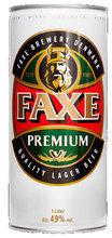 Faxe Premium Lager Bier 1l Dose