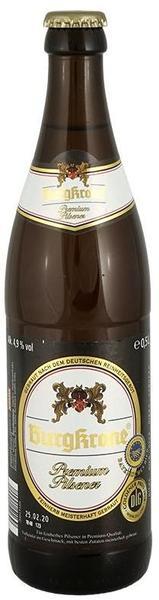 Burgkrone Premium Pilsener 0,5l