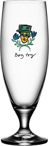 Kosta Boda Bierglas Friendship Boy Toy
