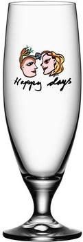 Kosta Boda Bierglas Friendship Happy Days