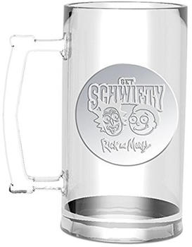 GB Eye Rick und Morty Get Schwifty Glaskrug 0,5l