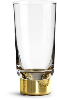 Sagaform Bierglas 330 ml gold 2er Set