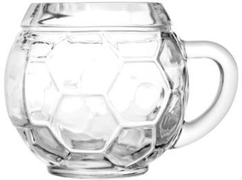 Stölzle Fußball Bierkrug 0,4 l