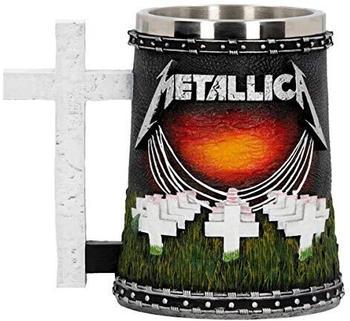 Nemesis Now Metallica-Master of Puppets Bierkrug, Kunstharz, Schwarz, 14,5 cm