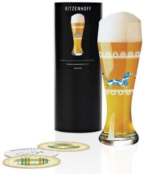 Ritzenhoff Weizenbierglas 0,5 l Herbst 2019 Sandra Brandhofer Dackel