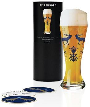 Ritzenhoff Weizenbierglas 0,5 l Herbst 2019 Iris Interthal Hirsche