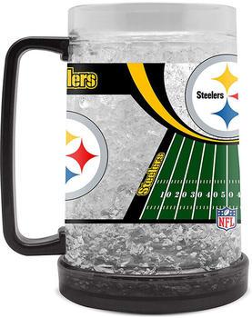 Fanatics Kristall Bierglas 475ml (9413159) Pittsburgh Steelers