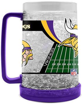 Fanatics Kristall Bierglas 475ml (9413159) Minnesota Vikings