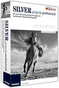 Franzis Silver projects professional (DE) (Win/Mac) (Box)