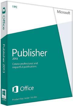 Microsoft Publisher 2013 (DE) (Win) (ESD)