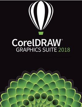 Corel CorelDRAW Graphics Suite 2018 Upgrade (DE) (Box)
