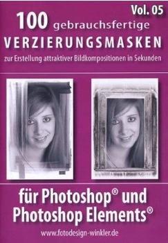 FotoDesign Winkler 100 Verzierungsmasken für Photoshop (Vol. 5)