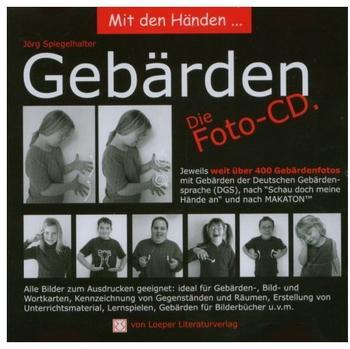 Loeper Literaturverlag Mit den Händen...GebärdenFoto-CD