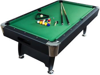 Maxstore 7 ft Pool Billardtisch Premium schwarz/grün
