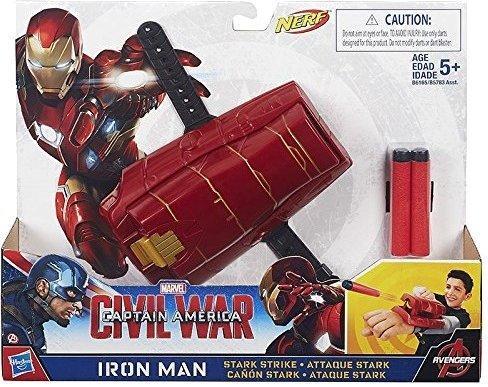 Nerf Marvel Captain America: Civil War Iron Man Stark Strike