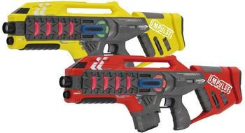 Jamara Impulse - Laser Gun Rifle Set gelb/rot