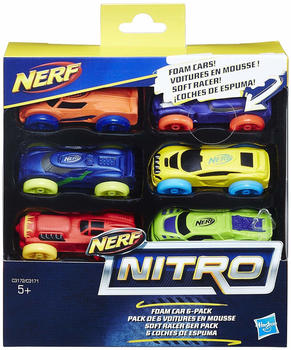 Nerf Nitro Foam Car 6-Pack