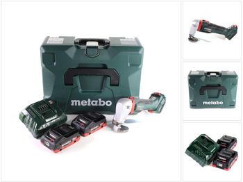 Metabo SCV 18 LTX BL 1.6 (2x 4,0 Ah LiHD + Ladegerät + MetaLoc)