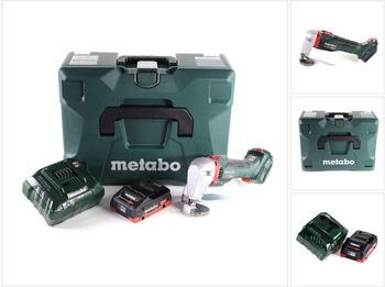 Metabo SCV 18 LTX BL 1.6 (1x 4,0 Ah LiHD + Ladegerät + MetaLoc)