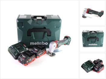 Metabo SCV 18 LTX BL 1.6 (2x 5,5 Ah LiHD + Ladegerät + MetaLoc)