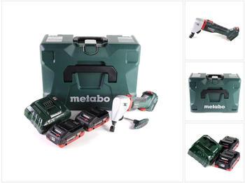Metabo NIV 18 LTX BL 1.6 (2 x 4,0 Ah + Ladegerät + MetaLoc)