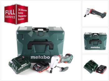 Metabo NIV 18 LTX BL 1.6 (1 x 4,0 Ah + Ladegerät + MetaLoc + 3 Jahre Full Service Rundum Schutz)