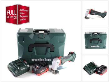 Metabo SCV 18 LTX BL 1.6 (1x 5,5 Ah LiHD + Ladegerät + MetaLoc + 3 Jahre Full Service Rundum Schutz)