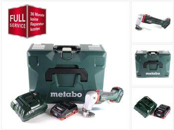 Metabo SCV 18 LTX BL 1.6 (1x 4,0 Ah LiHD + charger + MetaLoc + 3 Jahre Full Service Rundum Schutz)