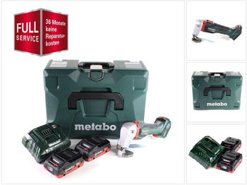 Metabo SCV 18 LTX BL 1.6 (2x 4,0 Ah LiHD + Ladegerät + MetaLoc + 3 Jahre Full Service Rundum Schutz)