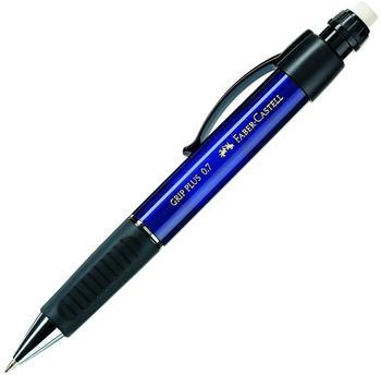Faber-Castell Grip Plus Druckbleistift 0.7 mm metallic-blau (130732)