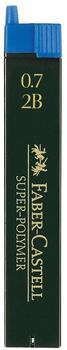 Faber-Castell 120702 Druckbleistiftminen 0,7 mm 2B