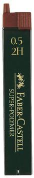 Faber-Castell 120512 Druckbleistiftminen 0,5 mm 2H