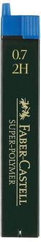 Faber-Castell 120712 Druckbleistiftminen 0,7 mm 2H