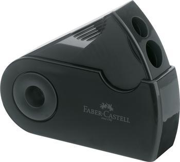 Faber-Castell Sleeve Doppelspitzdose schwarz (182700)