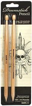 Suck UK Drumstick-Bleistift 2er-Set
