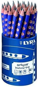 Lyra Groove Runddose 36 Graphitstifte.