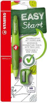 Stabilo EASYergo 3.15 Schreiblern-Bleistift rechts hellgrün/dunkelgrün Blister (B-46879-5)