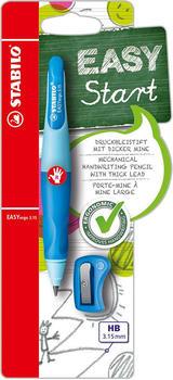Stabilo EASYergo 3.15 Schreiblern-Bleistift rechts hellblau/dunkelblau Blister (070433)