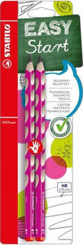 Stabilo EASYgraph Rechtshänder (HB) (pink) (2er Pack) (B-50648-10)