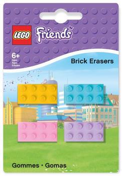 LEGO Friends Brick Erasers 4-Stk. (51608)