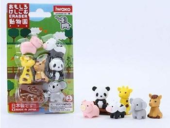 iwako Radierer-Set Zoo (ER-BRI018)