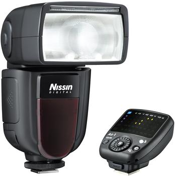 NISSIN Di700Air Blitzgerät und Commander für Nikon Kamera