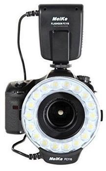 Khalia-Foto Makro Ringblitz Ringleuchte für Canon EOS DSLR Kameras von Meike